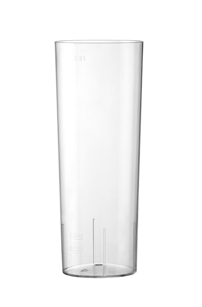 BICCHIERE TUBO CRISTAL 30cl