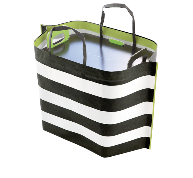SHOPPER ZEBRA XL