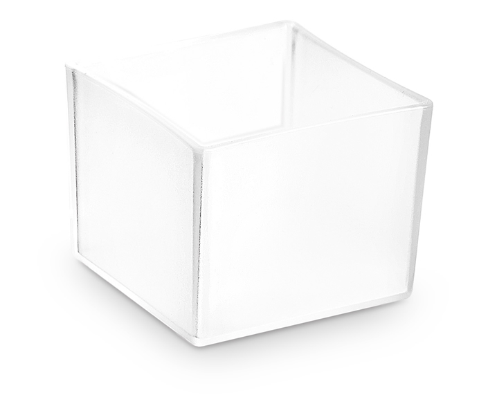 MINI CUBO SATINATO DA 3 CL