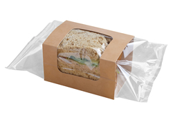 PORTA SANDWICH  IN CARTONCINO TERMOSALDABILE