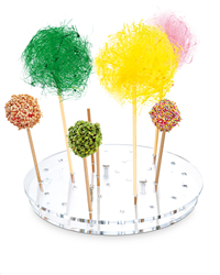 VASSOIO ESPOSITORE LOLLIPOP