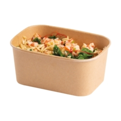 FOOD BOX STAGIONE GRANDE DA 1000 ml COLOR KRAFT (solo base)