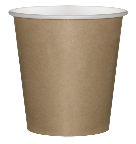 BICCHIERE IN CARTONCINO COFFE TO GO KRAFT 100 ML