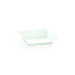PIATTINO QUADRATO FINGER FOOD  BIODEGRADABILE  60x60 MM